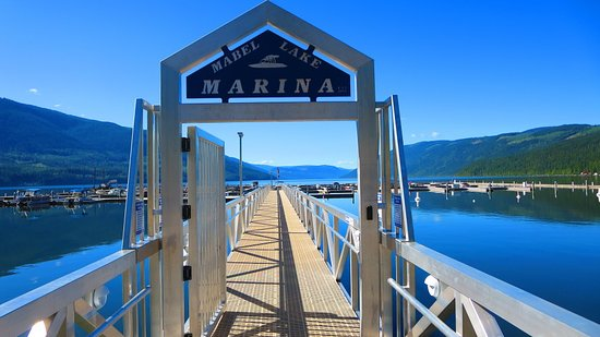 Enderby, Canada: Mabel Lake Marina