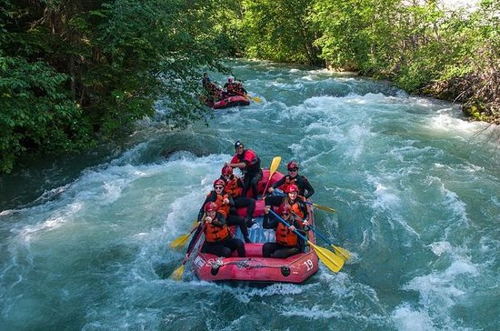 Rafting em Whistler