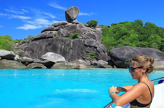 Full-Day Similan Island by Speedboat...