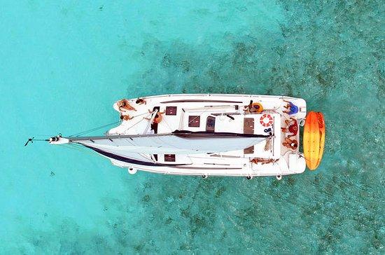 Catamarán de lujo en Cozumel