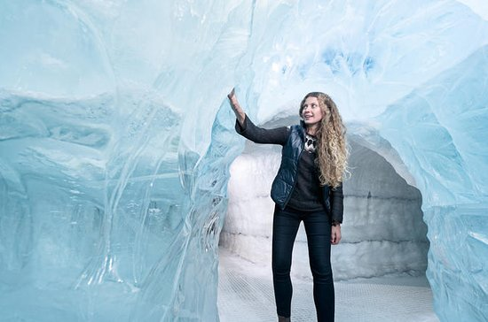 Entradas a la exposición de glaciares...