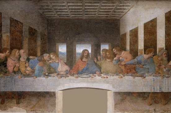 1-Hour Guided Tour of The Last Supper by Leonardo Da Vinci