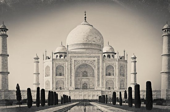 PRIVATE TAJ MAHAL AT SUNRISE AND AGRA...
