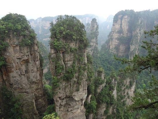 Wulingyuan Scenic and Historic Interest Area of Zhangjiajie: 迫力に圧倒されます。