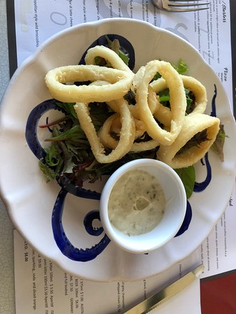 Circa 900 Pizzeria Napoletana: Lightly fried calamari