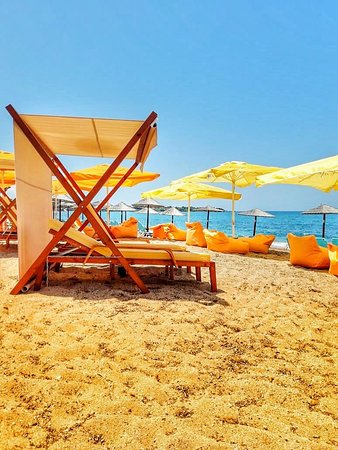 Mytikas, Hellas: The largest sandy beach in Europe Monolithi Preveza WEST Greece