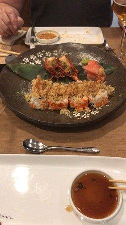 Restaurante Kazan: Maki Carabinero es un plato increíble, buenísimo