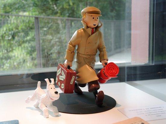 Musée Hergé : Kuifje en Bobby op reis