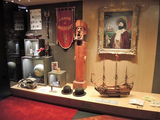Musée Hergé : zijn originele reisvoorwerpen