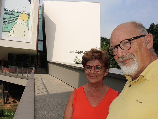 Musée Hergé : Hoofdingang