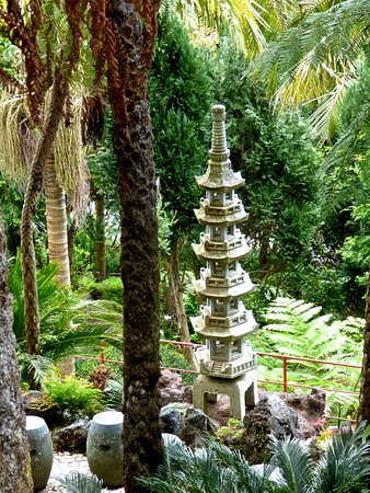 The tropical gardens Monte - Picture of Monte Palace Madeira ...