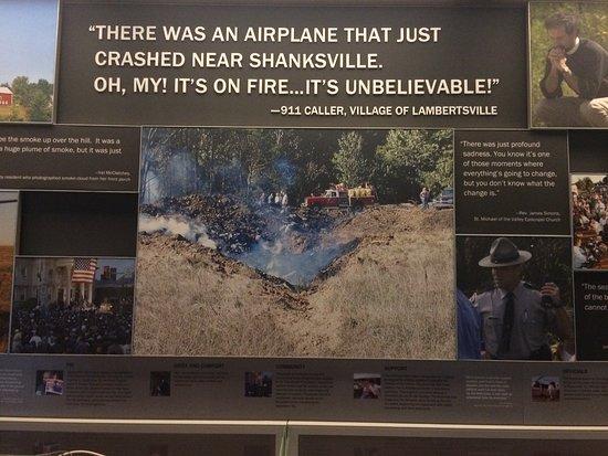Flight 93 National Memorial: Absturzstelle