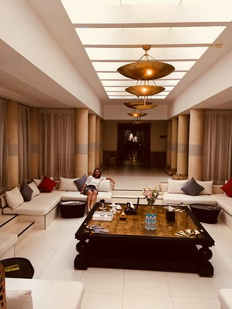 Hotel & Ryads Barriere Le Naoura Marrakech: Spa