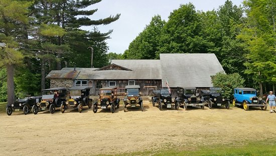 Canterbury, NH: Central NH Model T Club visiting Fox Country Smoke House June 9, 2018