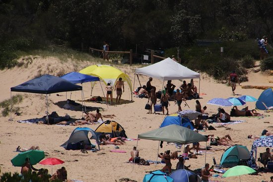 La Perouse, Australia: Shelter from the heat