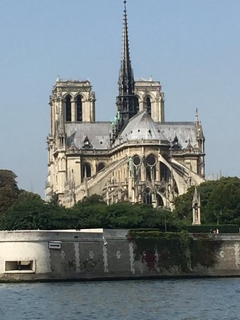 Seine River Hop-On Hop-Off Sightseeing Cruise in Paris: One of the best places from which to see Notre Dame