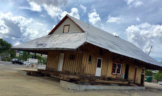 Dayton Carson & Colorado Railroad Depot