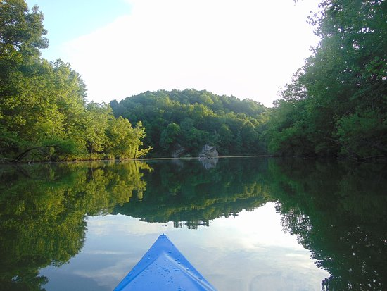 Mammoth Cave Canoe & Kayak: Photo from the GoPro I brought during our trip. Excellent time!