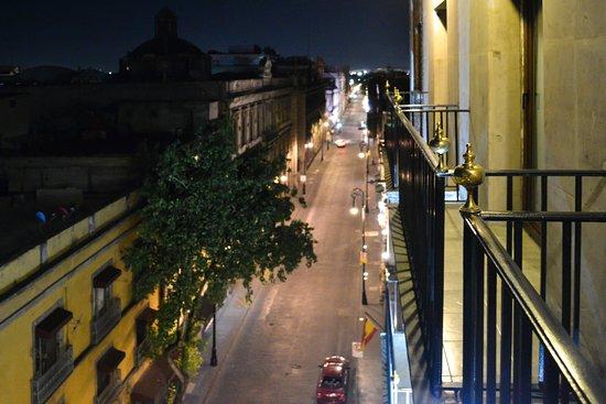 Hotel Catedral: Fifth floor balcony.