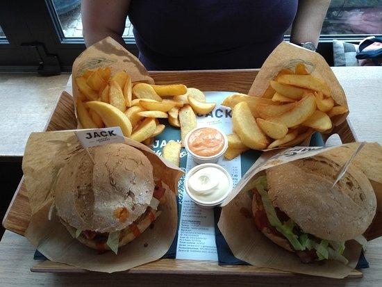 JACK Premium Burgers Gent: Menu hamburguesa