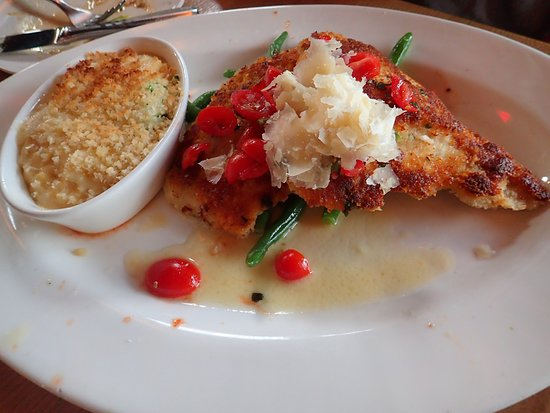 Parmesan Chicken Picture Of Coopers Hawk Winery Restaurants