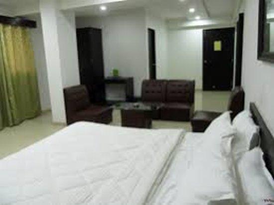 Vapi, India: Deluxe room