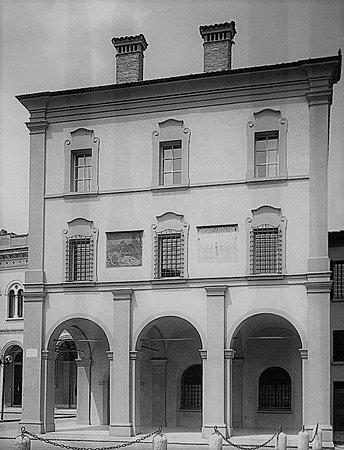 San Felice sul Panaro, Italia: l'antico palazzo