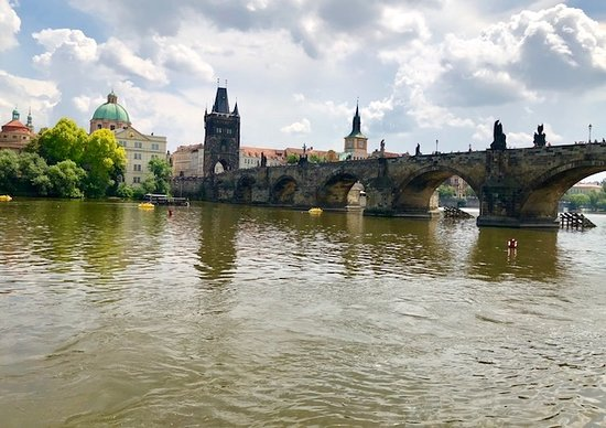 Prague Tour All Inclusive Tour: Charles Bridge From the River