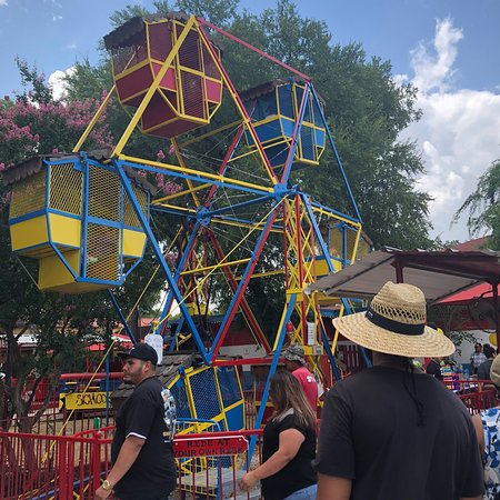 1918 Carousel Picture Of Kiddie Park San Antonio