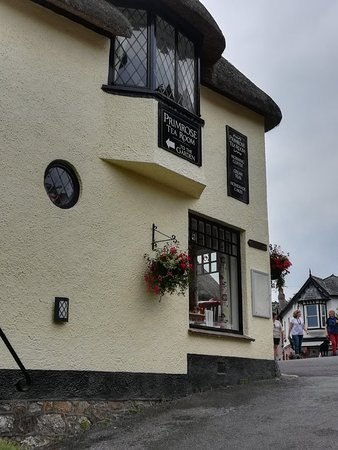 Lustleigh, UK: Excellent tea room