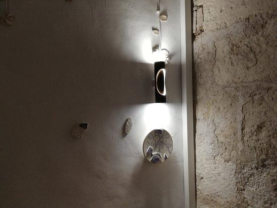 Ca Na Toneta: detalle decoración sala interior