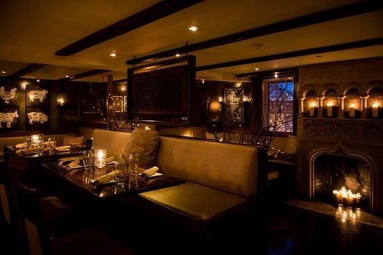 Town Restaurant Dining Room Tree Bar