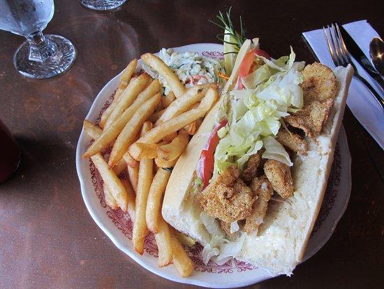 The Wheelhouse & Crowsnest: Wheelhouse - Rock Shrimp PoBoy