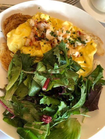 The Occidental : Lobster and Eggs