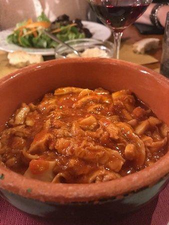 Il Magazzino: Tripa a la Fiorentina (tripe stew) is a house specialty