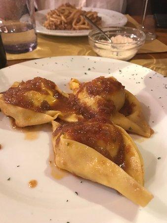 Il Magazzino: Ravioli di Lampredotto is a house specialty (so good!)