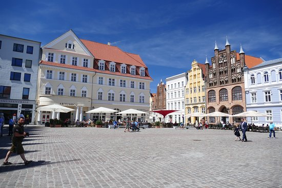 Rathaus Stralsund: an overview from the Rathaus