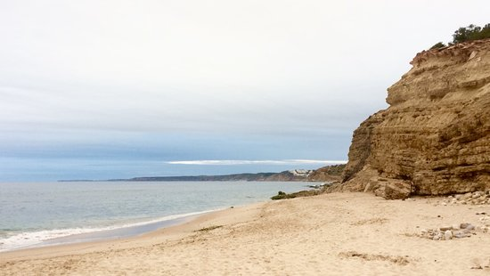 Burgau, Portugal : Cloudy day in June