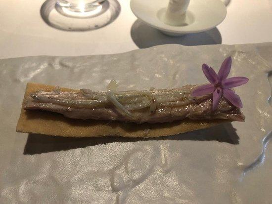 Ulldecona, Spain: Caballa con angulas