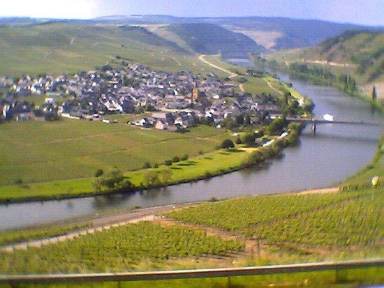 uitzicht van trittenheim