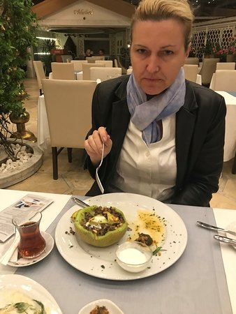 Ottoman Hotel Imperial: One of the many great dishes to order!