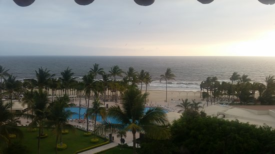 Occidental Nuevo Vallarta: View from our room.