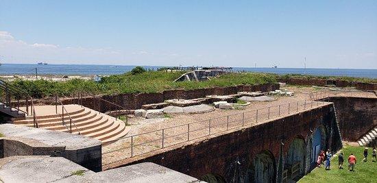 Fort Morgan State Historic Site: 20180607_125802_large.jpg