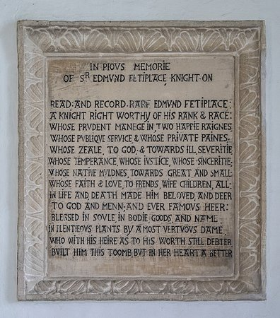 Swinbrook, UK: I always find this memorial moving, especially the last few lines.