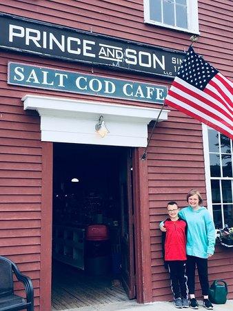 Orrs Island, ME: Salt Cod Cafe