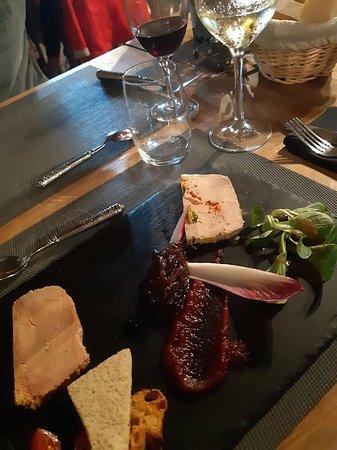 Charentilly, Francia: Foie gras de canard