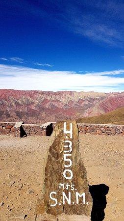 Serranias Del Hornocal ภาพถ่าย