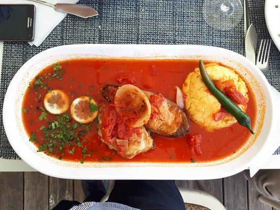 Giurgiu, Romania: fish, of course