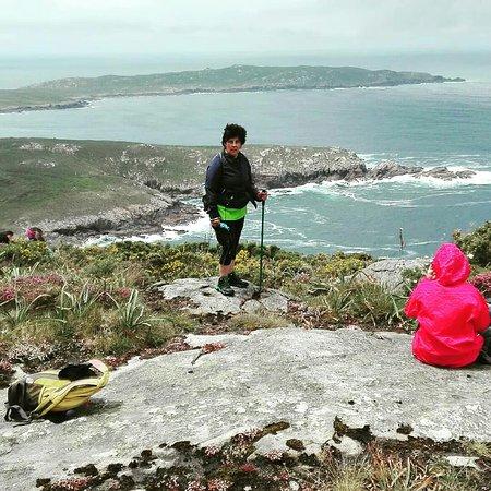 Cape Finisterre, Ισπανία: O Camiño dos Faros