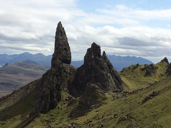 The Old Man of Storr: view from higher